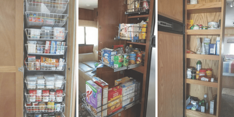 5 RV Pantry Cabinet Problems & Solutions | RV Inspiration