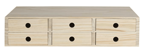 Wood drawer - organization and storage idea for under cabinets