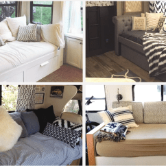 Replacement Cushions For Sleeper Sofa Foam Sofas Sleepers Rv Bed Ideas With Pictures Best Campers Motorhomes And Travel Trailers