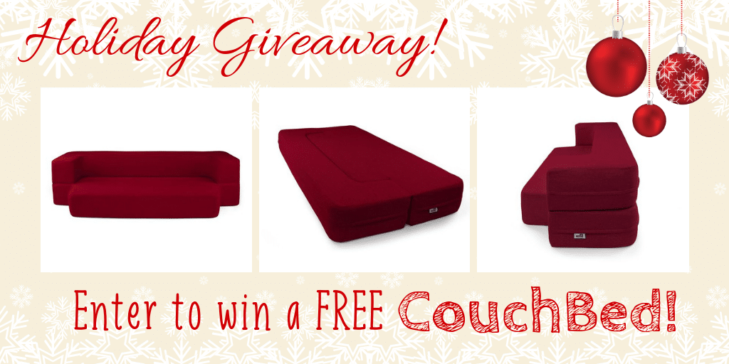 Enter to win a free CouchBed