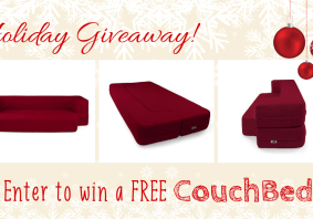 Enter to win a free CouchBed - perfect for an RV!