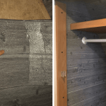 """Insulating RV Walls with Faux """"Wood Plank"""" Adhesive Panels"""