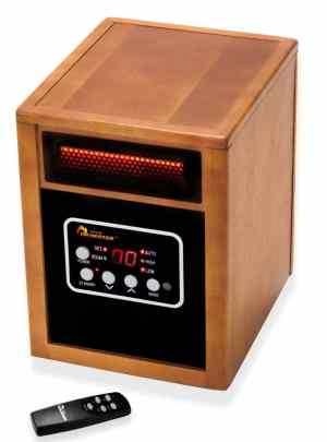 An infrared space heater is one of the best space heaters for RVs.
