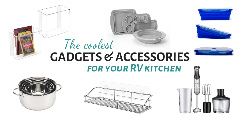RV Kitchen Accessories and Gadgets for Motorhomes and Trailers