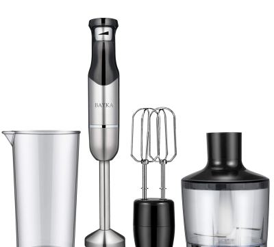 Immersion blender with attachments