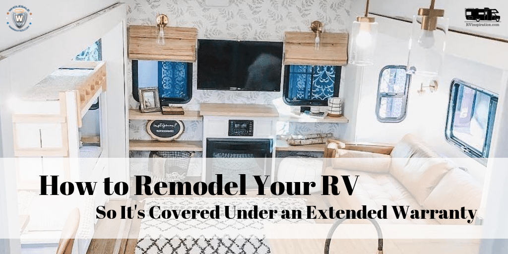 Will remodeling your RV void the warranty?