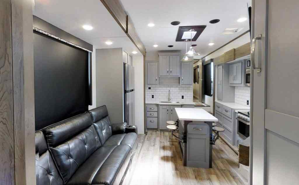 Keystone Offers A Lighter Brighter Rv Interior Option