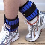 The Healthy Traveler: Ankle Weights: Calorie Burners or Ankle Turners?