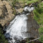 Yellowstone's Wonders in Falling Water