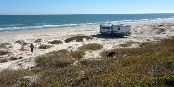 Go RVing on the Texas Gulf Coast