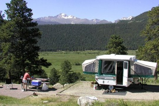 national park campground