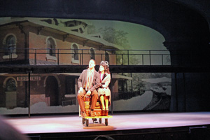 """Scene from """"It's a Wonderful Life"""""""