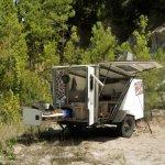 NASA Engineer Designs A Cool Expedition Camping Trailer For Almost Any Car