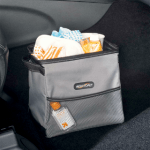 StableMate Gray Car Trash Basket