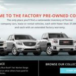 GM's Factory Pre-Owned System Creates Easier Buying Experience
