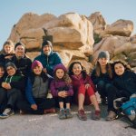 Two Families Stick Together to Go Full-time RVing with Kids