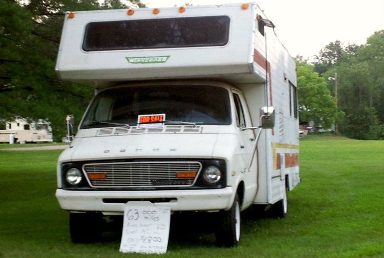 buy a used RV for full-timing