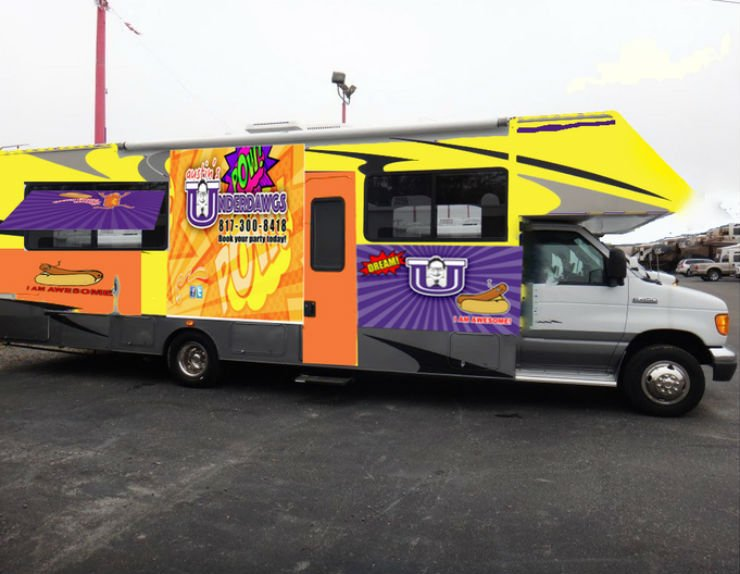 A Food Truck RV - Toy Hauler Conversion For Charity - RV Life