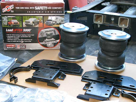 Air Bag Suspension Mods For Rvs  Fifth Wheel Trailers
