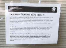 How The Government Shutdown Affects RVers, Hikers, And Campers