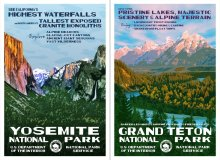This Artist Created Vintage-Style Posters For Every National Park