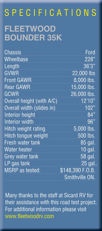 hight resolution of 42 1 fleetwood bounder 35k 07