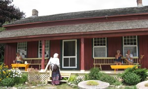 An old, old farm house in Prince Edward, Canada