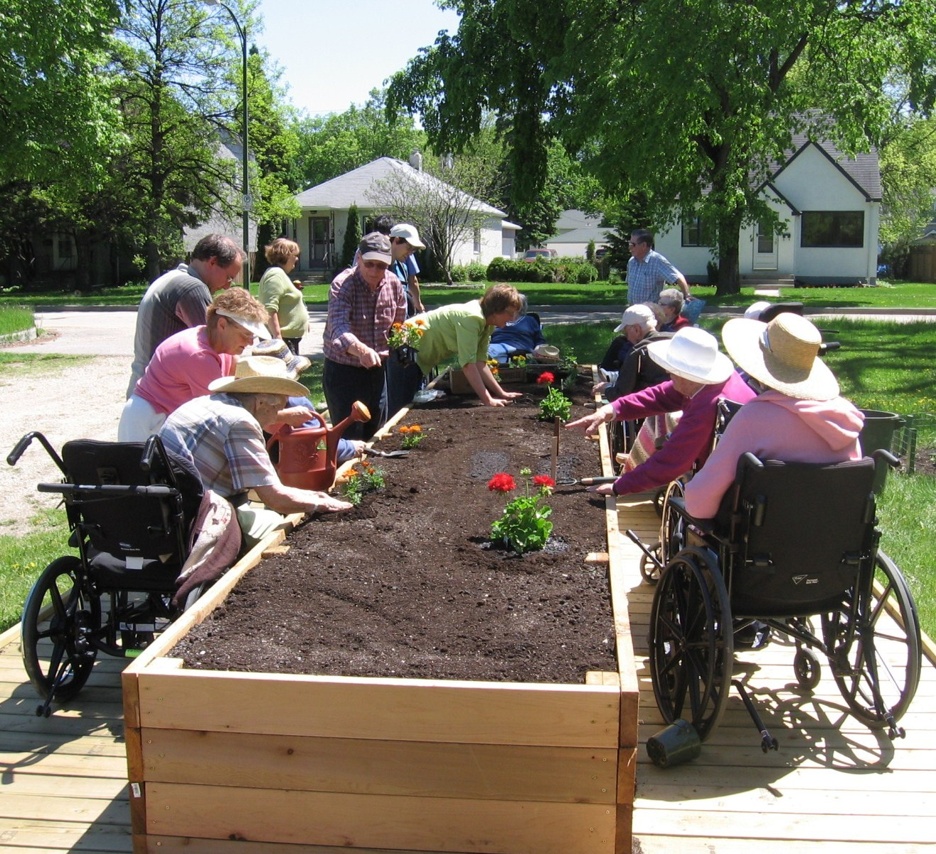 chair games for seniors counter height chairs ikea gardening riverview and lord roberts cler program