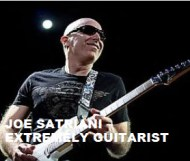 Joe Satriani  -  Extremely Guitarist
