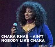 Chaka Khan  - Ain t Nobody Like Chaka
