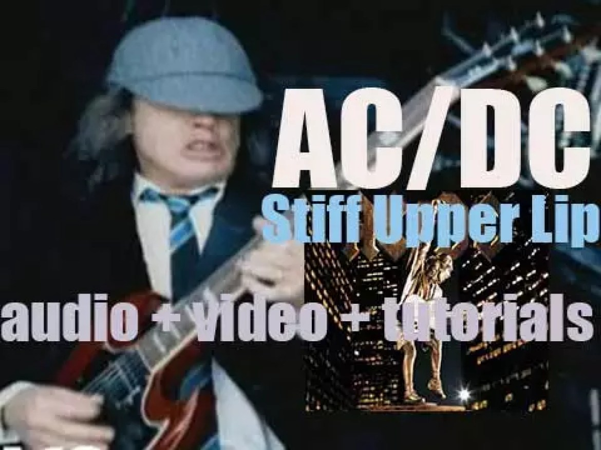 AC/DC release 'Stiff Upper Lip,' the last one produced by the oldest Young brother, George (2000)