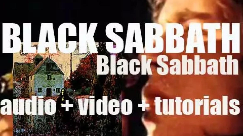 Vertigo publish 'Black Sabbath' their eponymous debut album featuring 'N.I.B.' (1970)