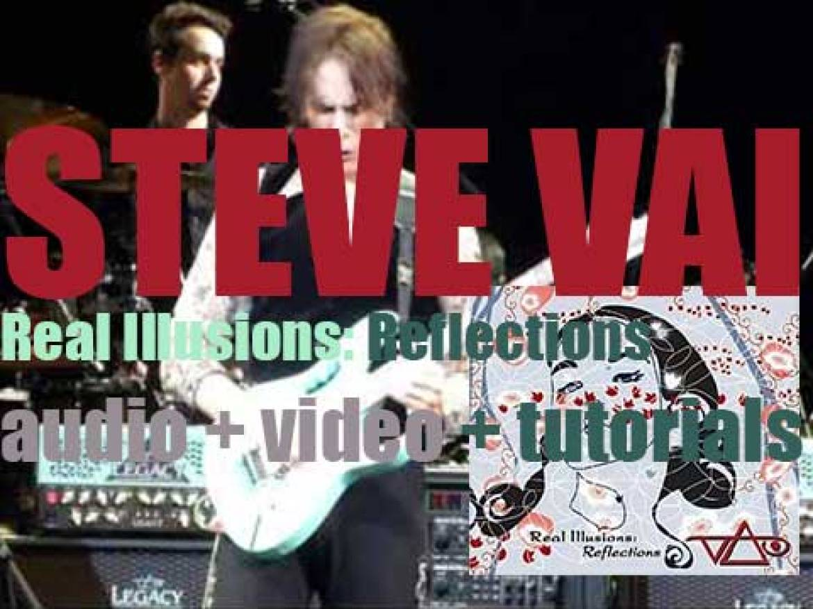 Steve Vai releases 'Real Illusions: Reflections,' his seventh studio album (2005)