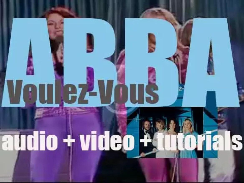 ABBA release 'Voulez-Vous,' their sixth album featuring 'Chiquitita' (1979)