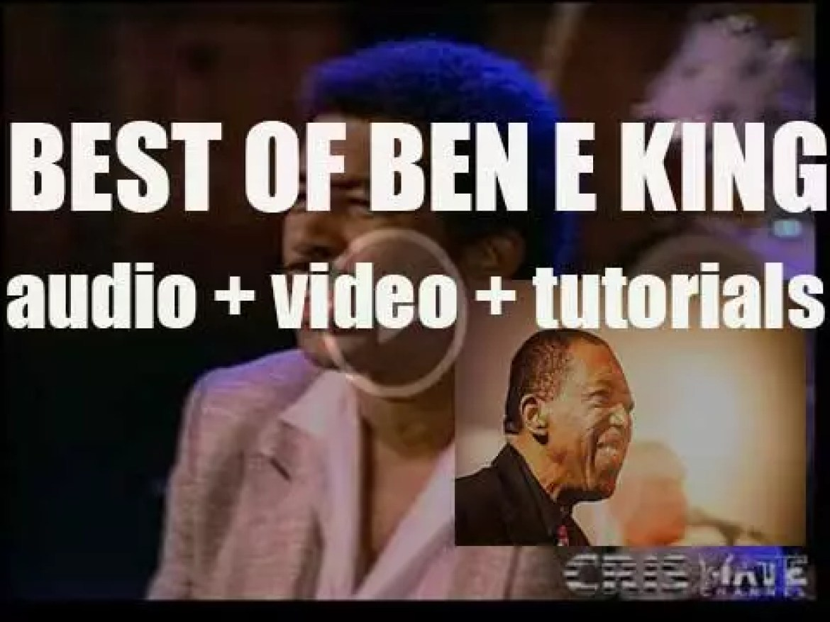 We all remember Ben E. King. 'For A Day'