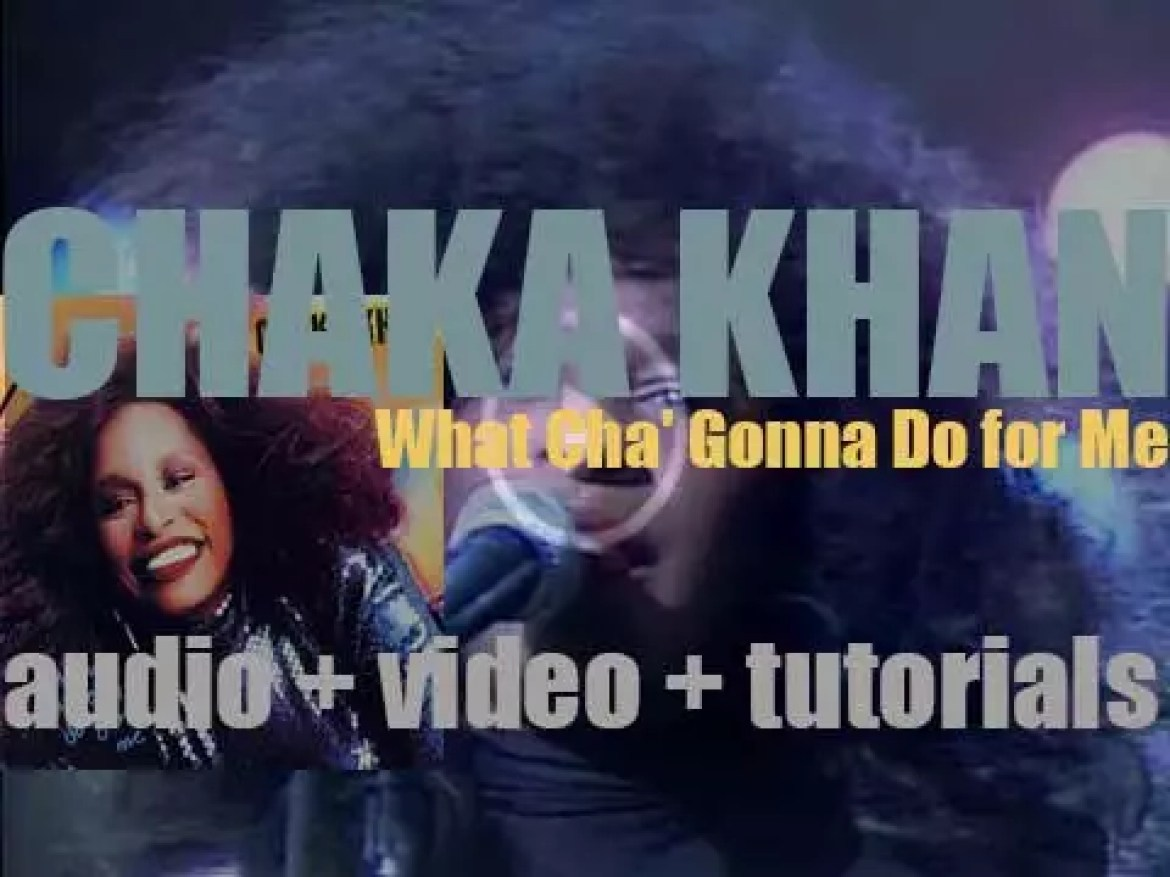 Chaka Khan releases 'What Cha' Gonna Do for Me,' her third album produced by Arif Mardin (1981)