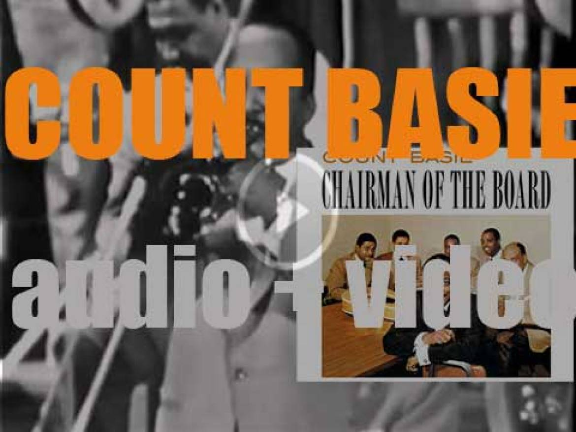Roulette publish 'The Chairman of the Board,' an album by Count Basie and his Orchestra (1959)