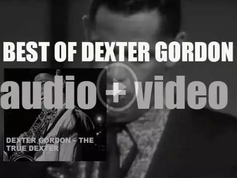 We remember Dexter Gordon. 'The True Dexter'