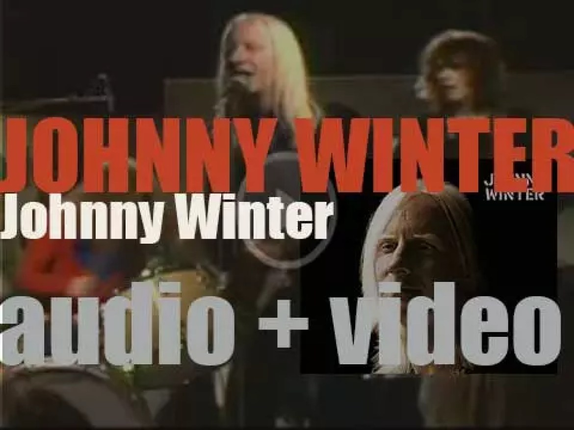 Columbia release 'Johnny Winter,' his self-titled second album (1969)
