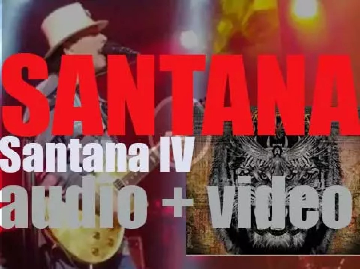 Santana Records release 'Santana IV,' featuring a reunion of the almost complete Woodstock line-up (2016)