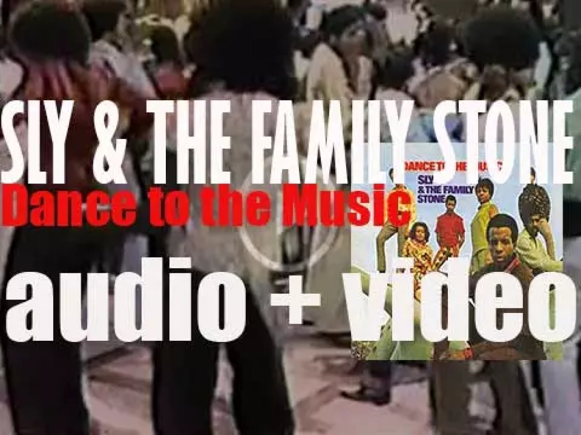 Epic release 'Dance to the Music,' Sly & the Family Stone's second album (1968)
