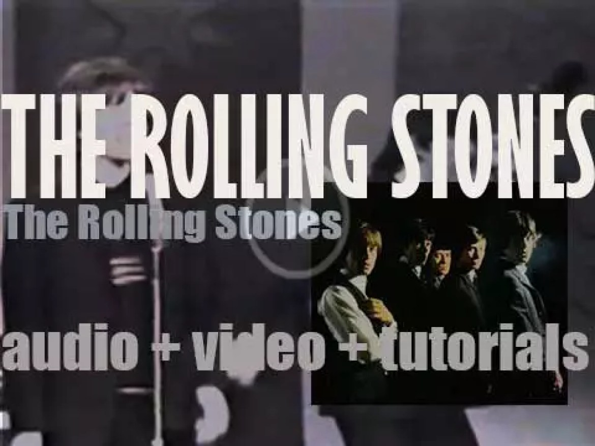 Decca publish 'The Rolling Stones,'  the band's debut album featuring 'Can I Get A Witness' (1964)