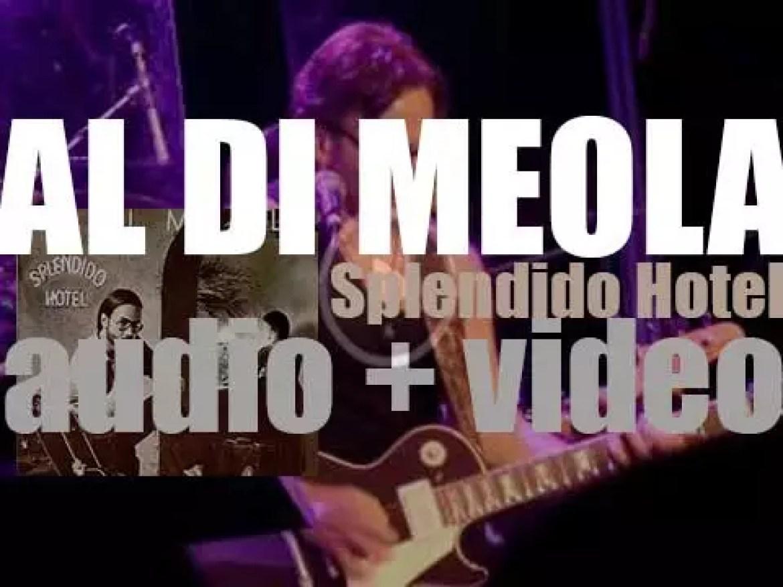Columbia publish 'Splendido Hotel,' a double album  by Al Di Meola (1980)