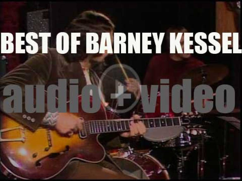 We remember Barney Kessel. 'Kessel, Poll Winner'