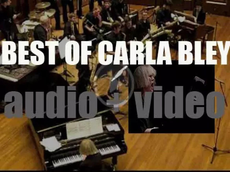 Happy Birthday Carla Bley. 'Carla Over The Hill'