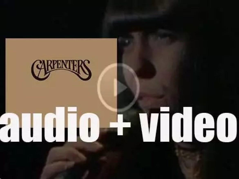A&M publish 'Carpenters,' their eponymous third album featuring 'Superstar' (1971)