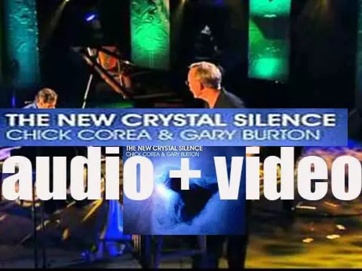 Chick Corea and Gary Burton record 'The New Crystal Silence' live in Sydney (2007)