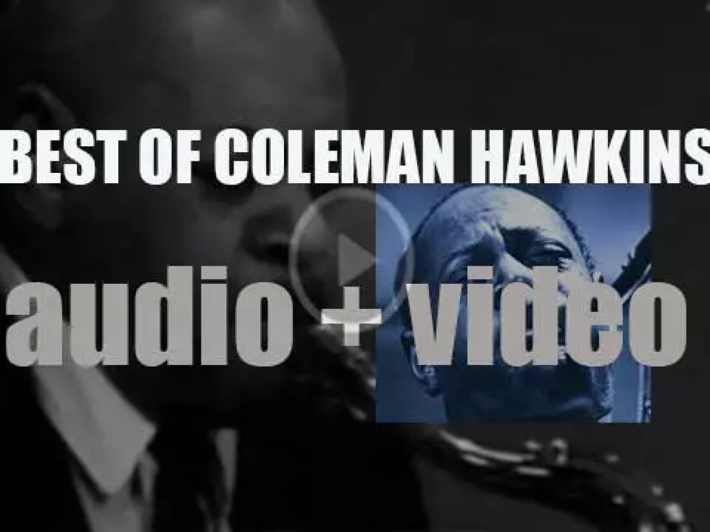 We Remember Coleman Hawkins. 'The True Mister Bean'