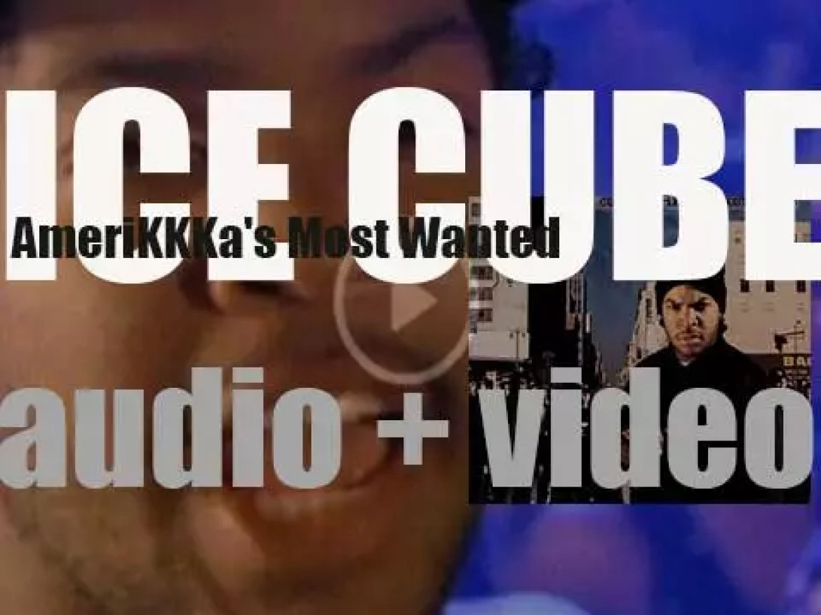 Ice Cube releases 'AmeriKKKa's Most Wanted,' his first album after his split from N.W.A. (1990)