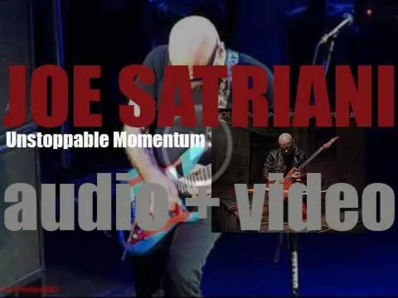 Epic publish Joe Satriani's 'Unstoppable Momentum,' his fourteenth album (2013)